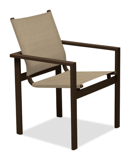 Telescope Casual Tribeca Sling, Stacking Cafe Chair