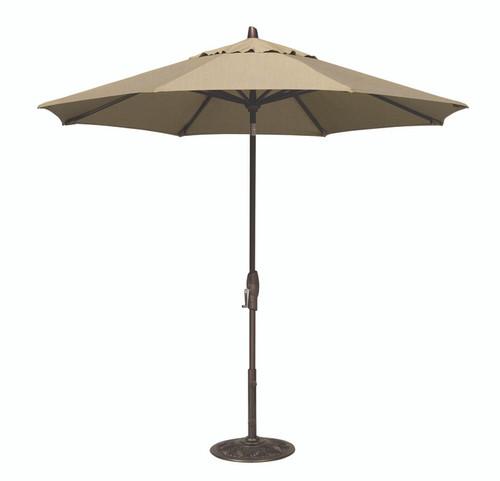 Treasure Garden Market Umbrellas, 9' Auto Tilt Umbrella  DWV