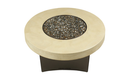 """Oriflamme Tuscan 42"""" Copper Base Fire Table"""