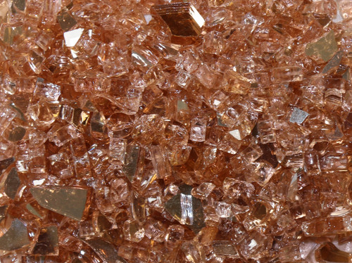 Oriflamme Chapagne Fire Table Fire Glass (Per Pound)