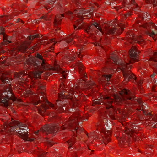Oriflamme Red Fire Table Fire Glass (Per Pound)