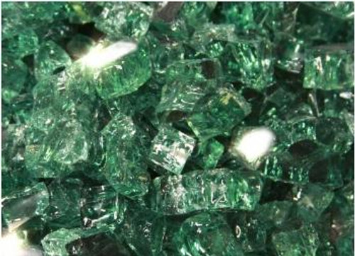Oriflamme Reflective Evergreen Fire Table Fire Glass (Per Pound)