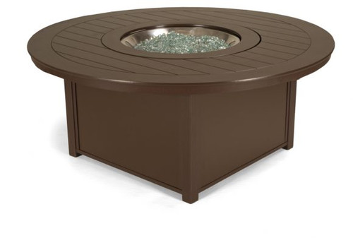 Telescope Casual, MGP Top Fire Tables, 54″ Round MGP Top Fire Table