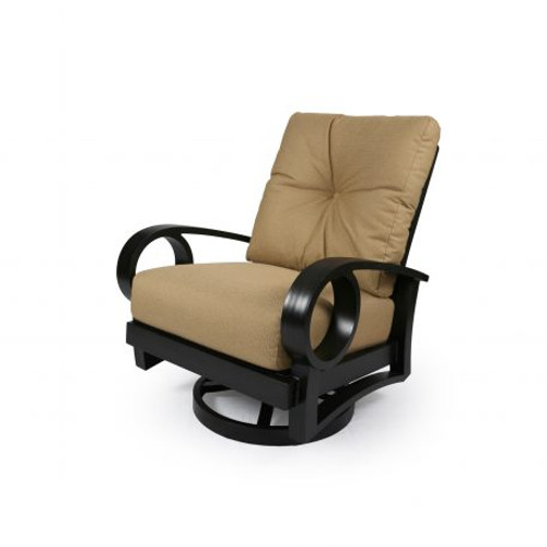 Mallin Casual, Eclipse Cushion Spring Swivel Lounge Chair