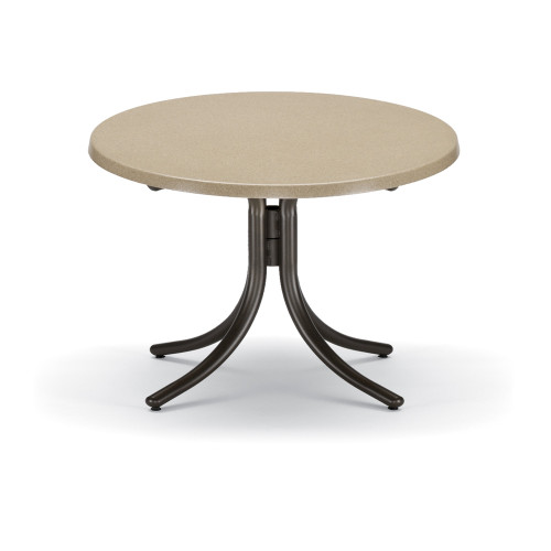 """Telescope Casual 30"""" Round Chat Height Werzalit Top Table"""
