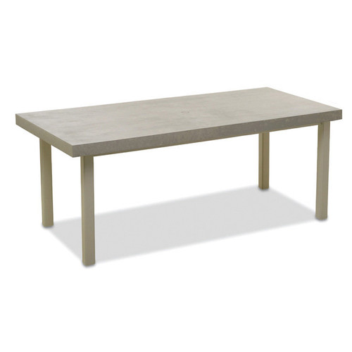 """Telescope Casual Elements 42"""" x 84"""" Rectangular Bar Table with Hole"""