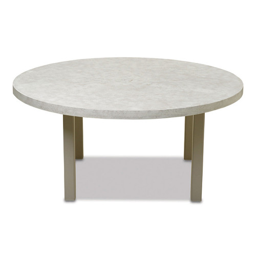 """Telescope Casual Elements 60"""" Round Dining Table with Hole"""