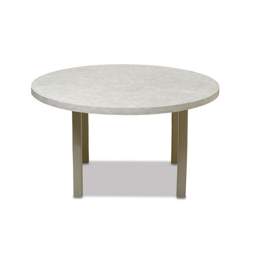 "Telescope Casual Elements 60"" Round Balcony Table with Hole"