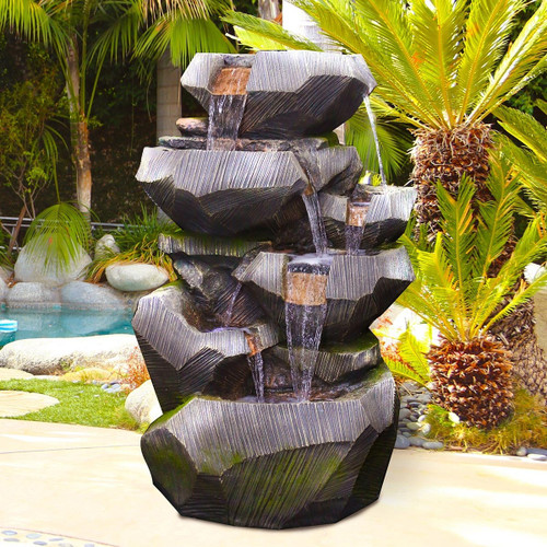 "32"" Polyresin Fountains"