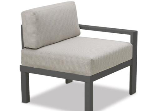 Telescope Casual Larssen Cushion Aluminum End Lounge Chair