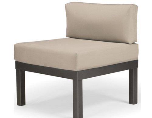 Telescope Casual Larssen Cushion Aluminum Modular Lounge Chair