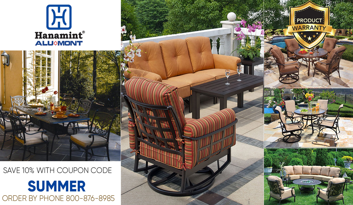 Bringing Style To The Outdoors... One Yard At A Time. We have installed quality oriented manufacturing systems that insure a quality product every step of the way. Hanamint will continue to concern itself with product excellence. We are dedicated to serving the customer who wants quality, style and value.