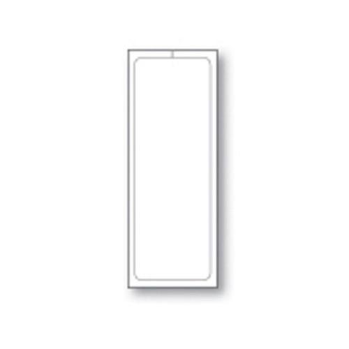 """Plain White Addendum Stickers - Adhesive - 4-1/4"""" x 11"""" (250 per pack) (8300-1)"""