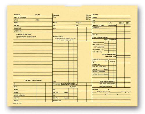 3-in-1 Deal Envelope Deal Jacket (100 shrink wrapped) (Form # 237)