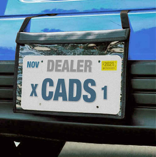 Premium Demo Dealer Tag Bag License Plate Holder