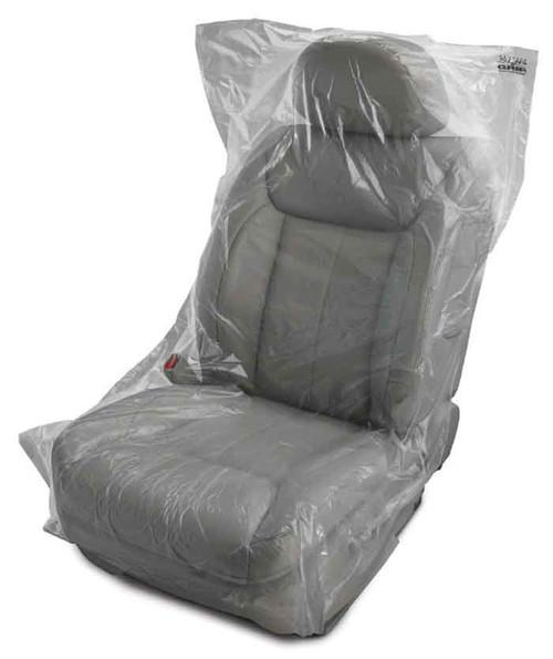 "Premium Clear Plastic Seat Covers (32"" x 56"") (250 per box)"
