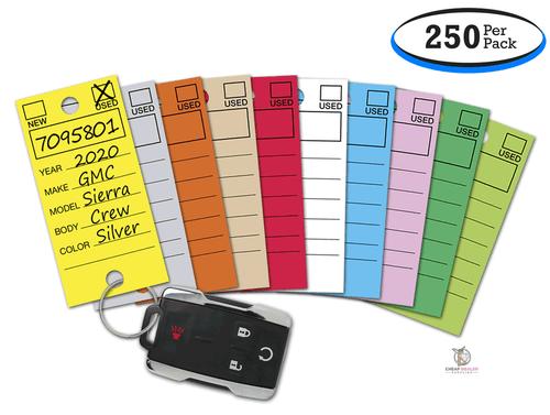 Genuine Versa-Tag® Key Tags (10 Colors Available) (250 per box)