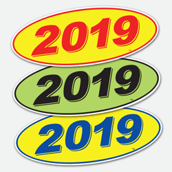 Numbers: Year Stickers