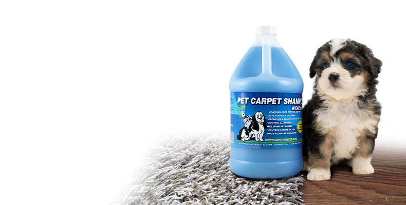 Pet Carpet Shampoo with Enzymes Pet Smell Remover