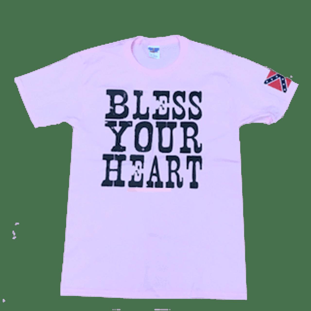 Elite Fan Shop NCAA Bless Your Heart T Shirt