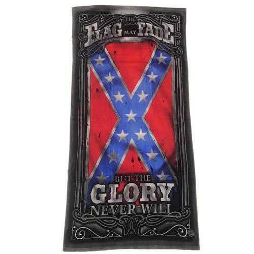 The Flag May Fade Velour Towel