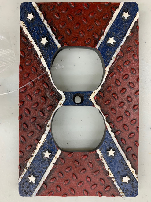 CONFEDERATE WALL SOCKET COVERS