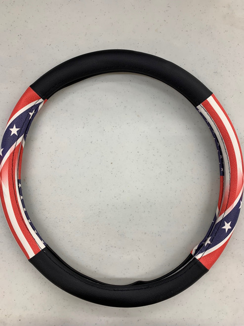 American transition to Confederate Steering Wheel Cover