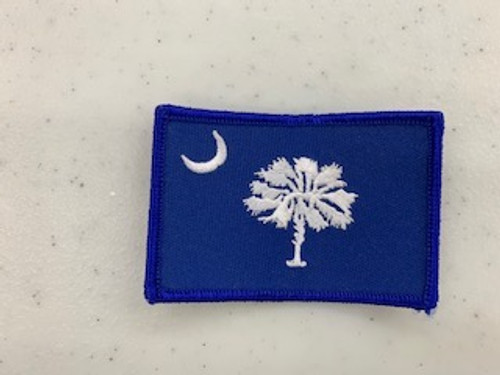 S.C State Flag Patch