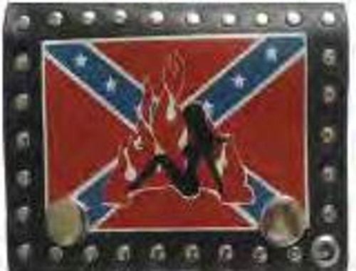 Confederate Babe Wallet W/Chain