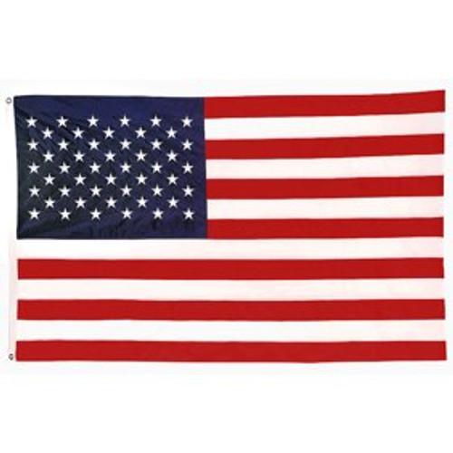 Embroidered  USA Flag 2'x3'