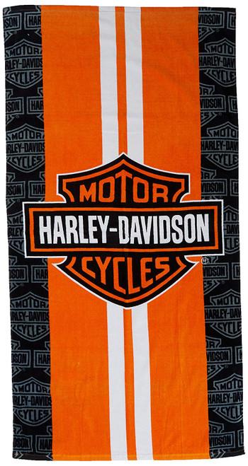 Harley Davidson beach towel (30X60)