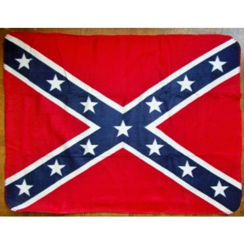 Confederate Flag Baby Blanket