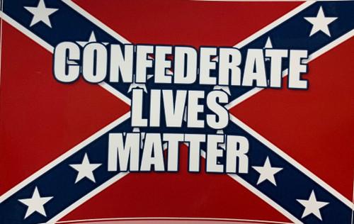 Confederate lives Matter Sticker