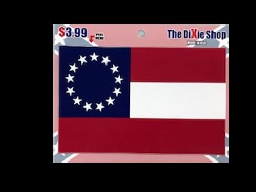 1st Thirteen Colony Confederate Sticker