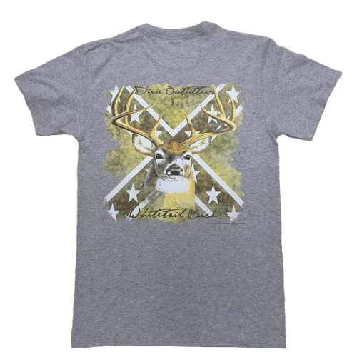 Confederate Flag Whitetail Buck T-Shirt