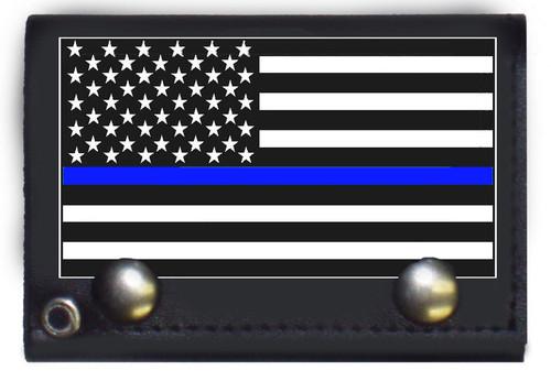USA Blue Line Wallet