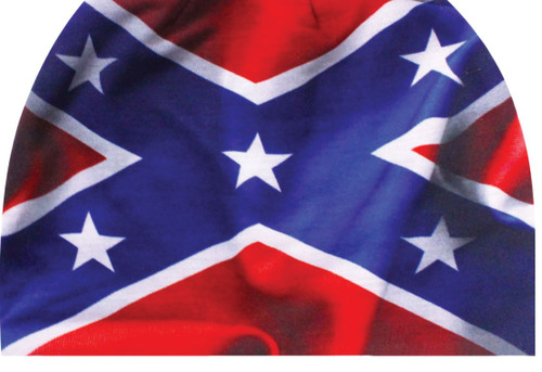 Sublimation Beanie Wavy Confederate Flag