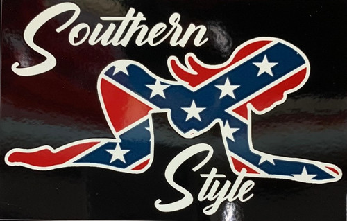 Southern Style Sticker *Made In America*