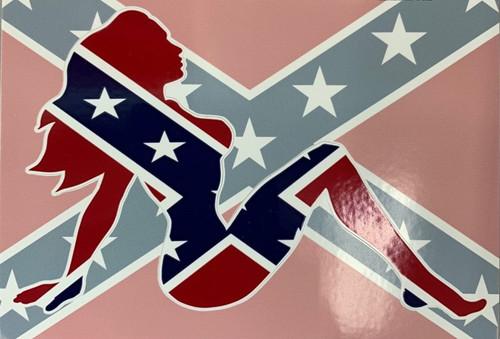 Confederate Babe Sticker *Made In America*