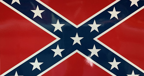Confederate Flag Sticker (X-Large) *Made In America*