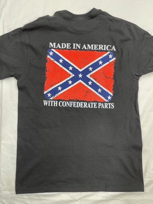"Made In America With Confederate Parts ""Made In America"" Shirt"