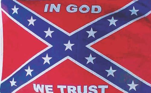 In GOD We Trust Confederate Flag