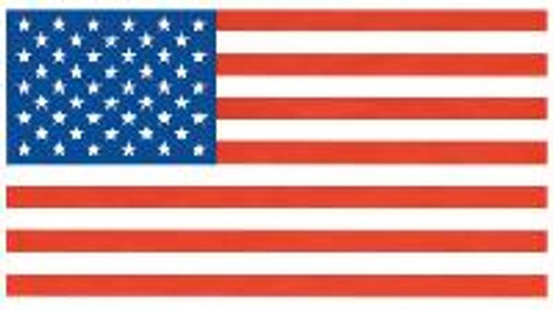 USA Embroidered Flag 5x8 (210D)