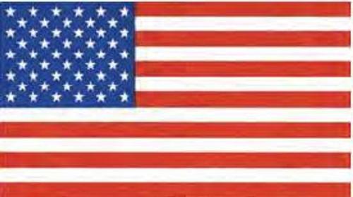 USA Embroidered Flag 4x6