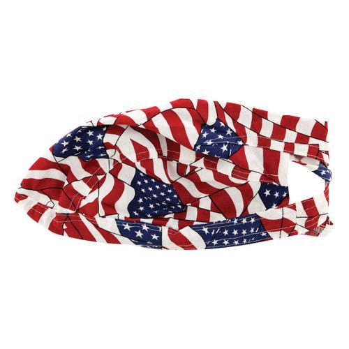 American Flag Head Wrap (Wavy)