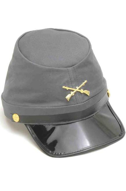 Confederate Soldier Kepi Hat