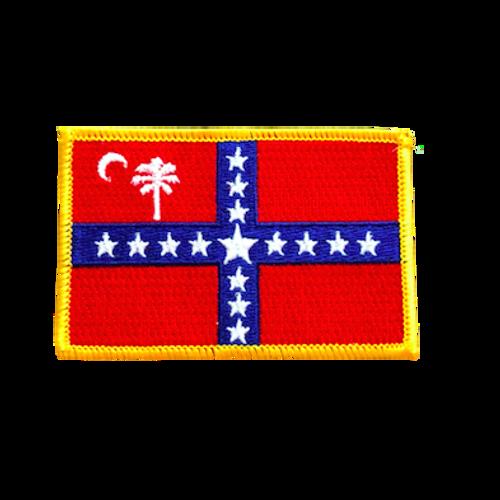 South Carolina Sovereignty Flag Patch
