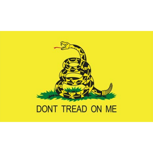 "Gadsden ""Don't Tread on Me"" Flag"