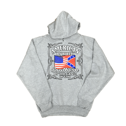 American By Birth Transition Confederate Flag Sweatshirt