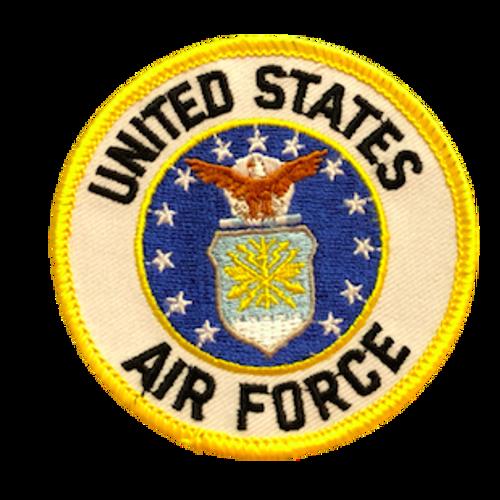 U.S. Air Force Patch (Circle)